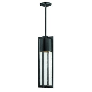Hinkley Lighting 1322 1 Light Dark Sky Outdoor Small Pendant from the Shelter Collection