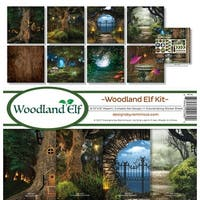 "Reminisce Collection Kit 12""X12""-Woodland Elf"