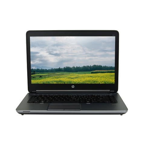 "HP ProBook 645 G1/AMD A6-4400M 2.7GHz 4GB RAM 128GB SSD 14"" Win 10 Home Laptop (Refurbished B Grade)"