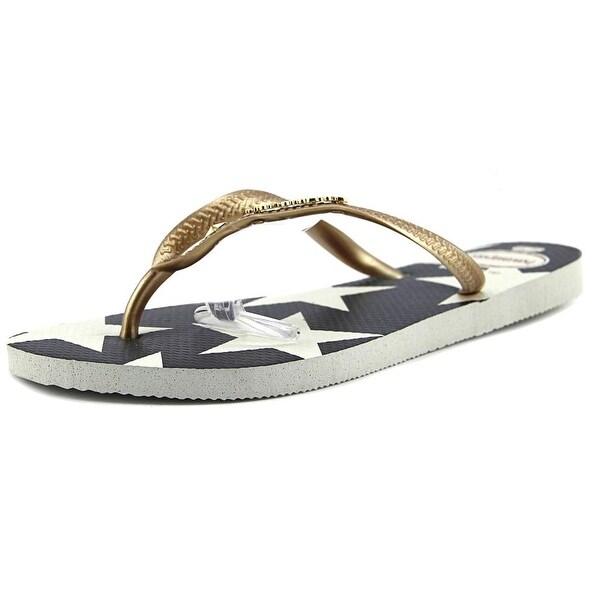 Havaianas Slim Women Open Toe Synthetic Multi Color Flip Flop Sandal