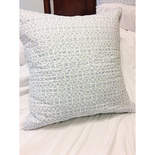 SwissLux Decorator 28-inch Euro Square Pillows (Set of 2)