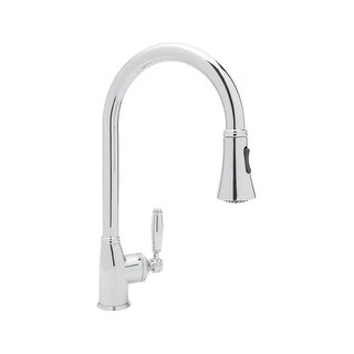 Rohl MB7928LM-2 Michael Berman Deck Mounted Kitchen Faucet with Pullout Spray