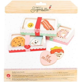Sweet Sugarbelle Double Cookie Box-We Got Together: Bacon & Egg