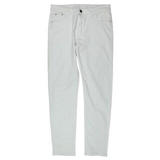 Fredd Marshall Mens Skinny Jeans Twill Five-Pocket - 32