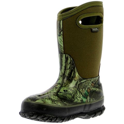 Bogs Outdoor Boots Boys Classic Insulated Mossy Oak WP Rubber