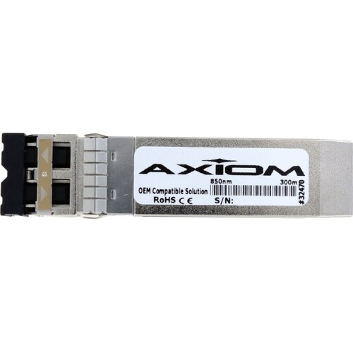 """""""Axion 10301-AX Axiom 10GBASE-SR SFP+ Module for Extreme Networks - For Data Networking, Optical Network - 1 x 10GBase-SR10"""