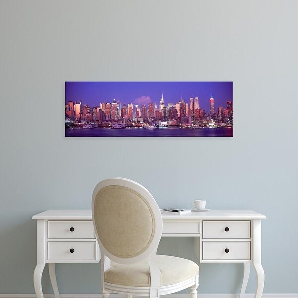 Shop Easy Art Prints Panoramic Images's 'Skylines At Dusk