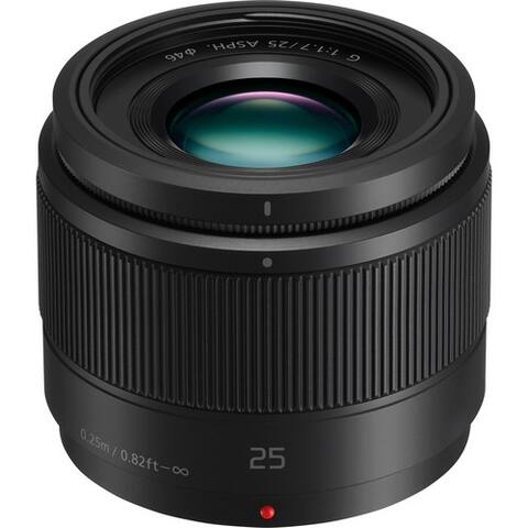 Panasonic Lumix G 25mm f/1.7 ASPH. Lens - black