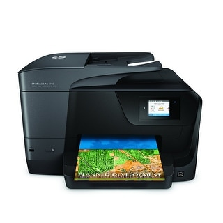 Hp Officejet Pro 8710 Wireless All-In-One Photo Printer With Mobile Printing, Instant Ink Ready (M9l66a)