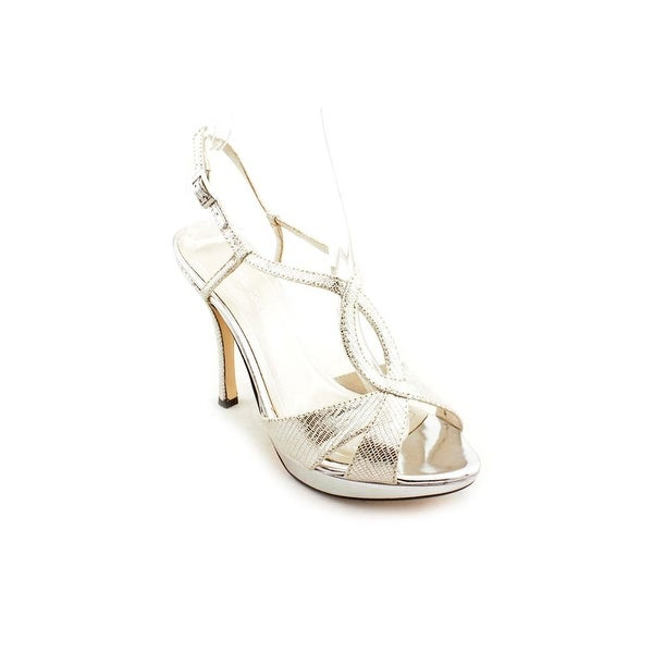 1a2821d10f7 Shop Caparros Fairfax Women Open Toe Synthetic Silver Platform Heel ...