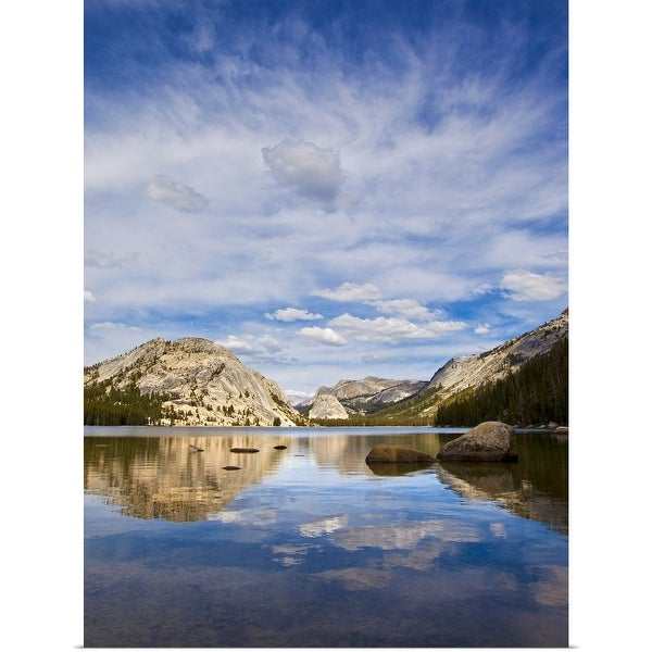 """Lake Tenaya, in Yosemite National Park off of State Route 120."" Poster Print"