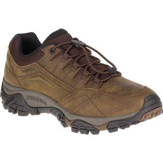 Merrell Men's Moab Adventure Stretch Hiking Shoe Dark Earth Nubuck