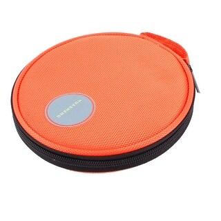 Lovely Portable Hand Carrying DVD CD Discs Holder Pocket Bag Organizer Orange