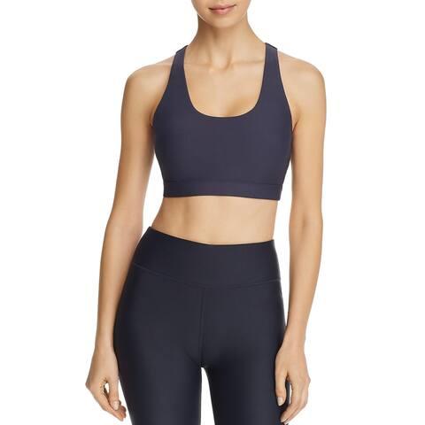 All Fenix Womens Sports Bra Workout Fitness - Navy - XS