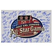 Signed Cal League AllStar 2007 12x18 Photo by the 2007 Call League All Star Participants by the Bot