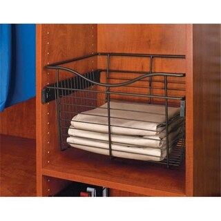 Rev A Shelf 24 In. W X 14 In. D X 11 In. H Wire Pull-Out Baskets -