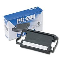 Brother PC-201 Thermal Transfer Print Cartridge  Black