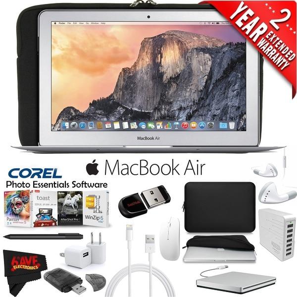 Apple 11.6-Inch MacBook Air (Early 2015) Mega Bundle