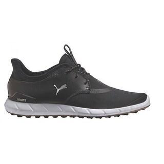 Puma Men S Ignite Spikeless Sport Black White Golf Shoes 189416 01