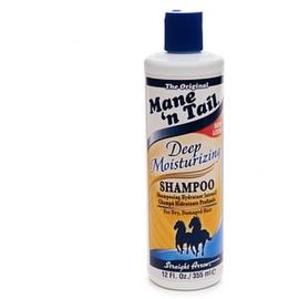 Mane'n Tail Deep Moisturizing Shampoo for Dry, Damaged Hair 12 oz