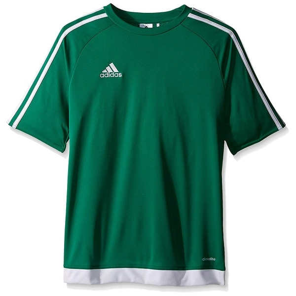 b79dd75b5 Shop Adidas Boys Estro 15 Jersey T-Shirt Bold Green/White Size Youth -  Green - On Sale - Free Shipping On Orders Over $45 - Overstock - 27286078