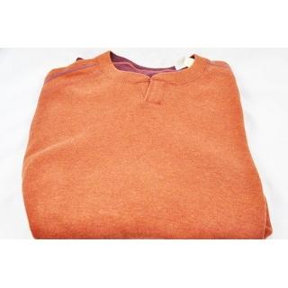 Tommy Bahama Rust Size XXL Open Collar Sweater