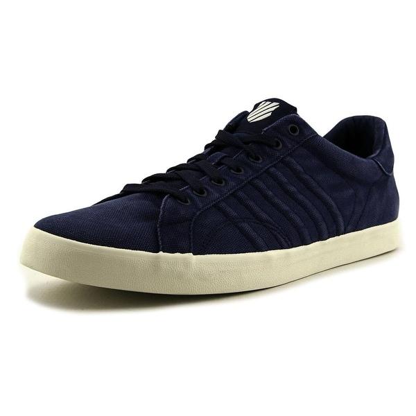 K-Swiss Belmont Men Round Toe Leather Blue Sneakers