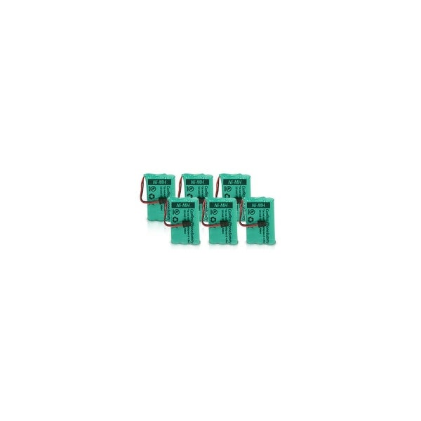 Replacement Battery BT446 (6 Pack) For Uniden And GE/RCA Cordless Phones