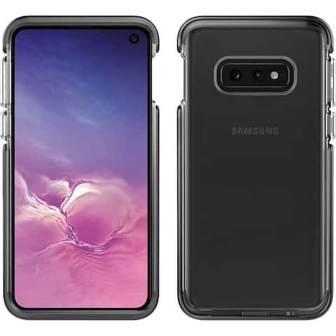 Pelican Ambassador For Samsung Galaxy S10E - Clear Black and Silver Protective Case