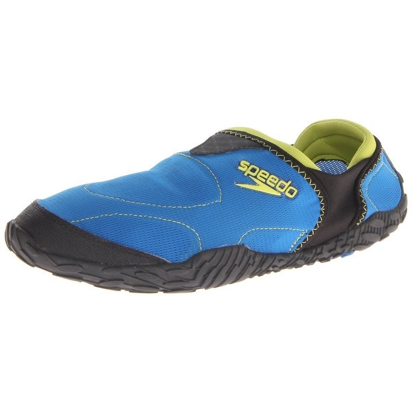 Speedo Men's Offshore Amphibious Pull On Water Shoe,Imperial Blue/Black,8 M Us - 8