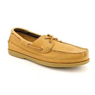 Life Outdoors 2-Eye Deck  2E Moc Toe Leather  Boat Shoe