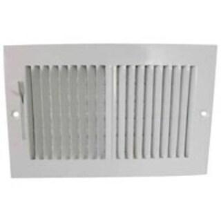 "Mintcraft SW02-10X6 Sidewall Registers, 10"" x 6"""