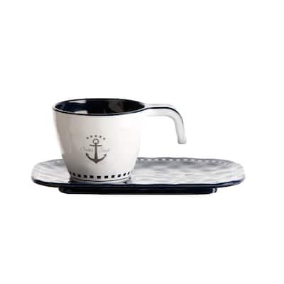 Sailor Soul Espresso Cup & Plate - Set of 6