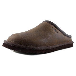 UGG Classic Clog Men Round Toe Leather Clogs