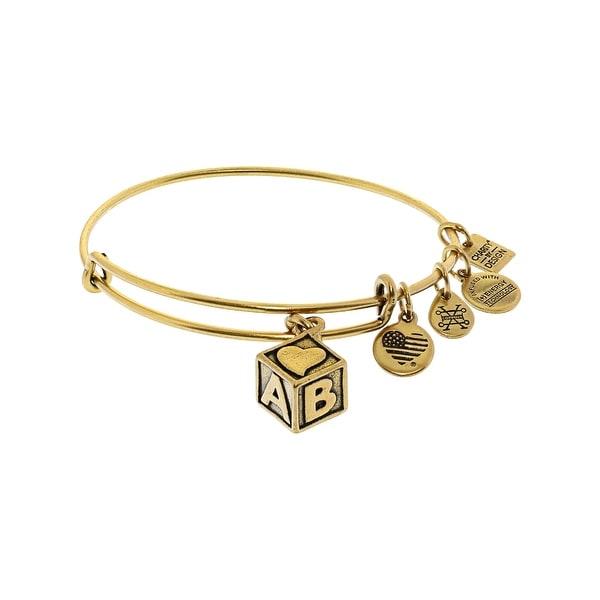 Shop Alex And Ani Women S Baby Block Bangle Bracelet 9