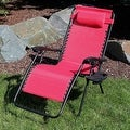 Sunnydaze Oversized Zero Gravity Lounge Chair with Pillow and Cup Holder - Thumbnail 58