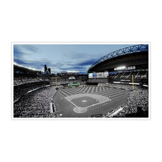 Seattle - Safeco Field - Touch of Color Baseball Ballparks - 36x20 Canvas ToC