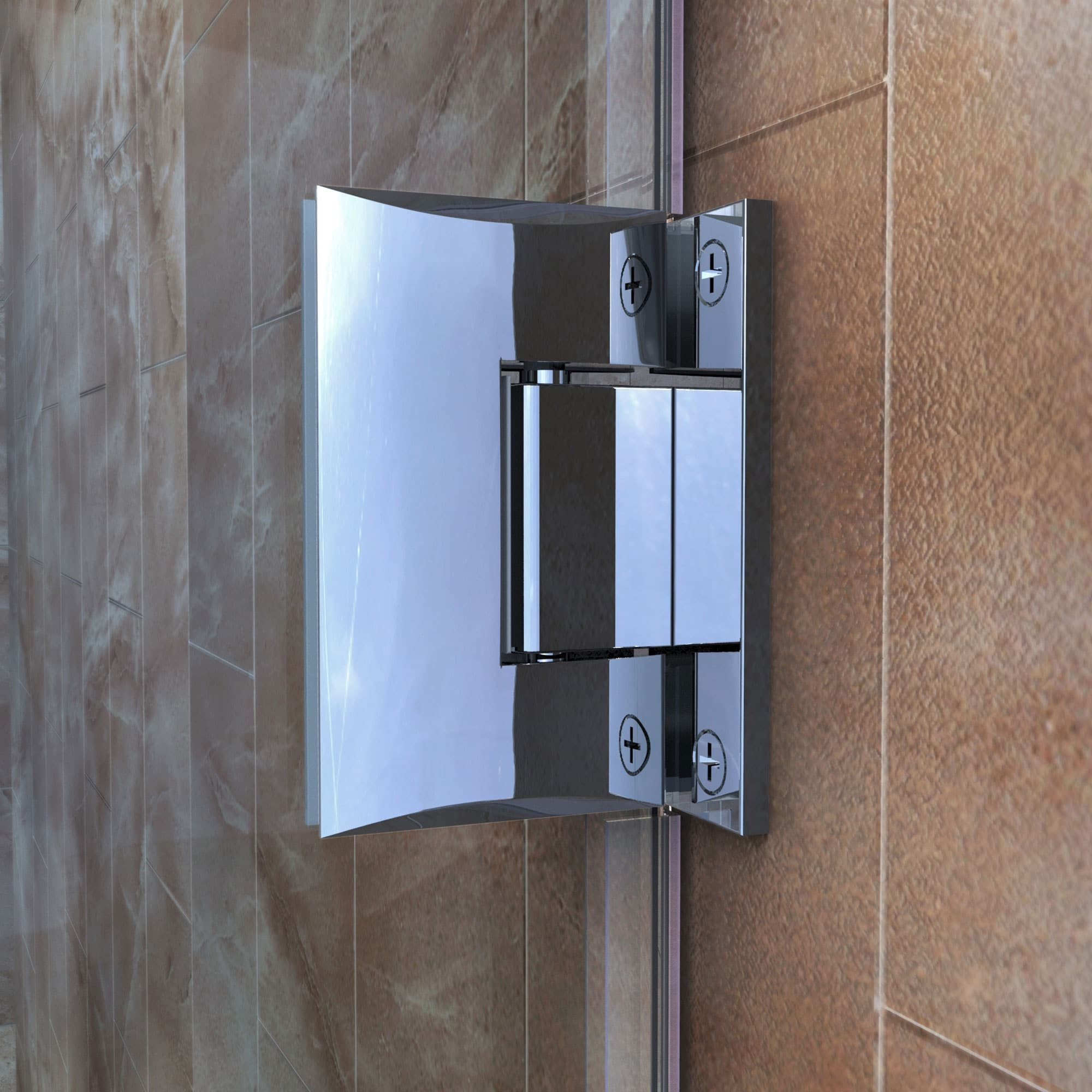 Dreamline Unidoor Plus 60 60 1 2 In W X 72 In H Frameless Hinged Shower Door 60 60 5 W Overstock 9126334