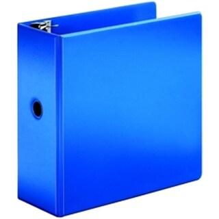SuperStrength Locking Slant-D Ring Binder 5 in Blue