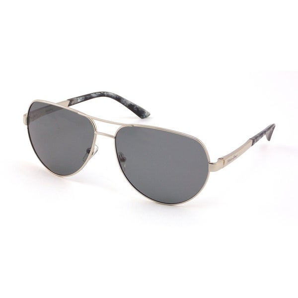 Shop Maui and Sons Mens Silver Metal Aviator Sunglasses MS007-1 ... fa44d389df