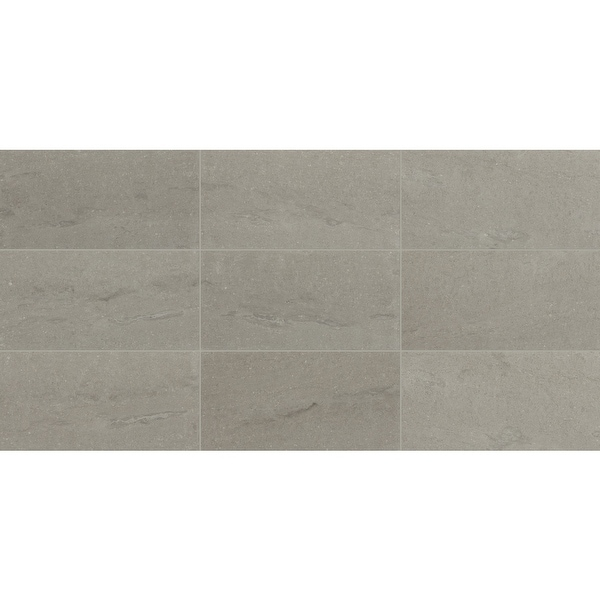 "Daltile M01912241U Raine - 24"" x 12"" Rectangle Ceiling, Floor, and Wall Tile - Honed Visual - Sold by Carton (10 SF/Carton)"