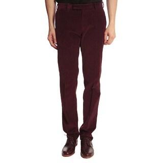 Lauren Ralph Lauren Corduroy Pants 38x30 Classic Fit Cords Mulberry