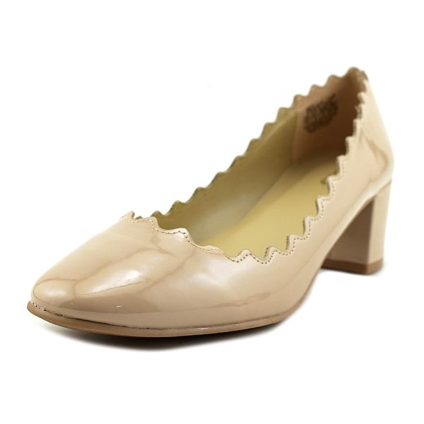 Wanted Mia Women Round Toe Synthetic Nude Heels