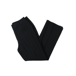 Le Suit Womens Petites Nantucket Dress Pants Pinstripe Straight Leg - 4P