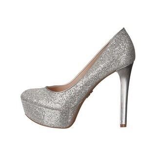 b541ca58886 High Heels Silver Sparkle MceAOt. Silver Heels - Shop The Best Brands Today  - Overstock.com