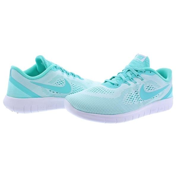 Shop Nike Girls Free RN Running Shoes