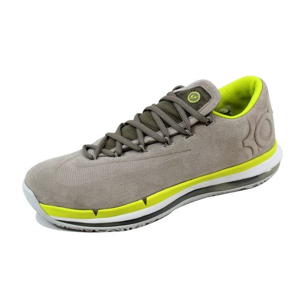 eb3ae05296c6 Shop Nike Men s KD VI 6 Elite Premium Chino Venom Green-Summit White ...