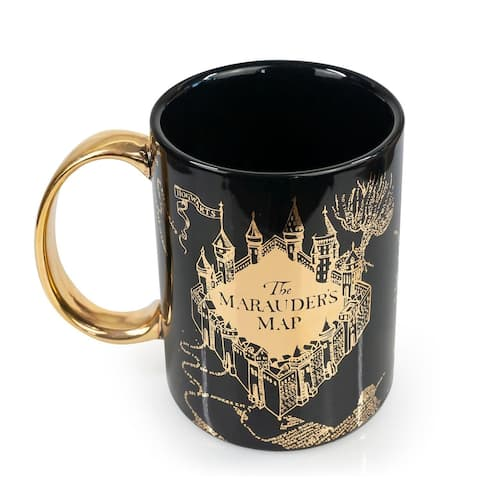 Oversized Harry Potter Marauder's Map Ceramic Coffee Mug