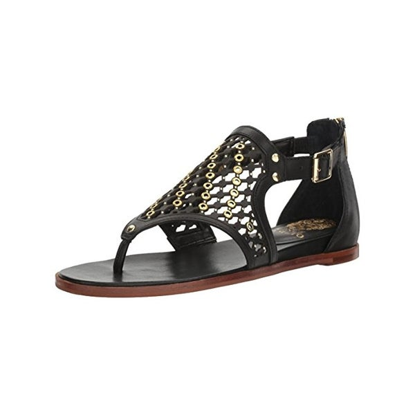 Vince Camuto Womens Sitara Thong Sandals Grommet Caged