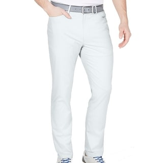 Link to Greg Norman Mens Chino Pants Bright White Size 38x30 Flat Front Slim Fit Similar Items in Big & Tall